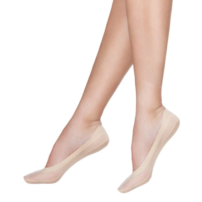 Topsocks footies ice silk 2-pack
